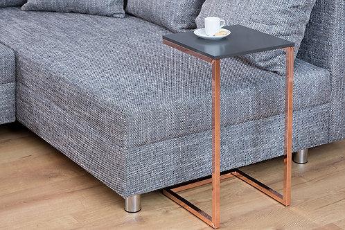 Table d'appoint design Simply cuivré/anthracite 61 cm