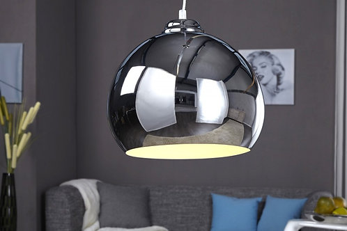 Lampe à suspension design Chromagon 3 blanche