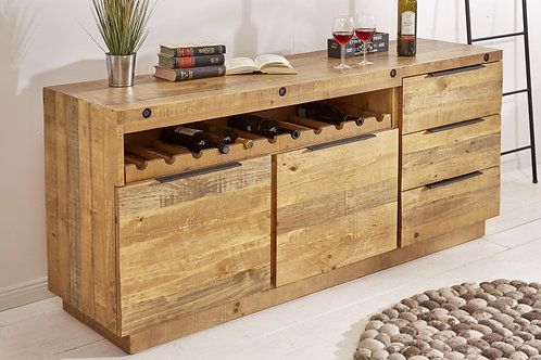 Buffet Finca 175cm bois de pin naturel