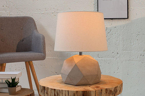 Lampe à poser design Cement 33 cm