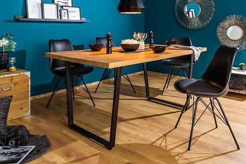 Table à manger Loft 140cm chêne