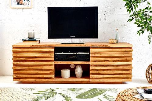 TV Lowboard Relief 150cm Akazie
