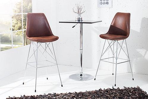 Chaise de bar design Scandinavia antique coffee
