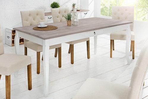 Table repas design Maison Belle Affaire bois massif huilé 180 cm