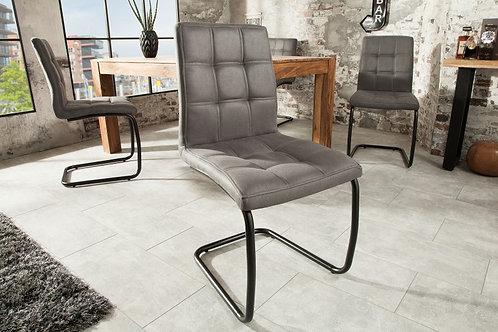 Chaise Design gris antracite Modena