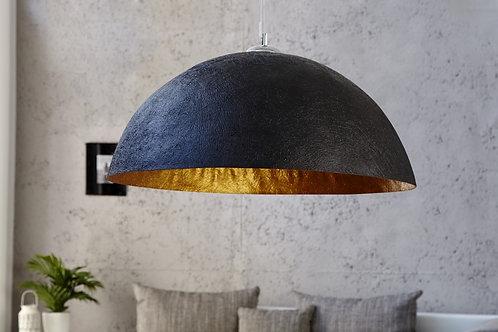 Suspension design Glow noire-or XL 70cm