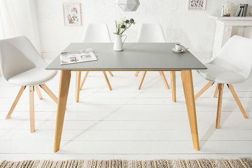Table à manger design Scandinavia 120cm Gris