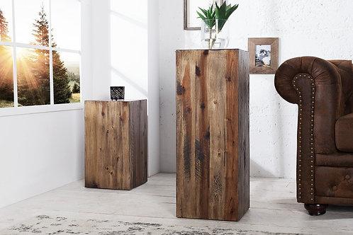 Colonne design Columna vintage en bois flotté 75 cm