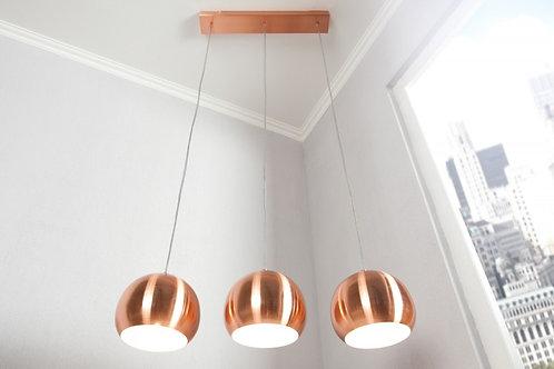 Lampe à suspension design Copper en métal cuivré 20 cm