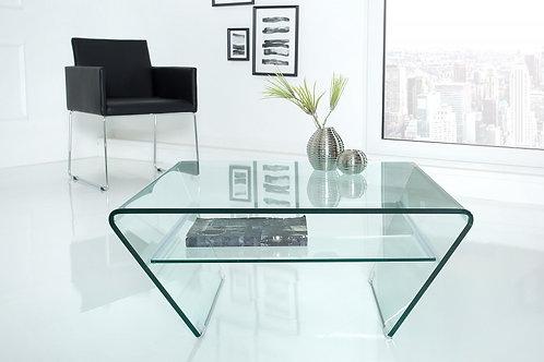 Table basse design Fantome 70cm trapeze