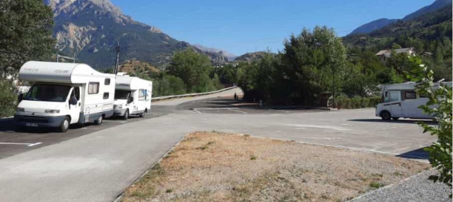 ARGENTIÈRE-LA-BESSÉE OUVRE SON AIRE D'ACCUEIL POUR CAMPING-CARS