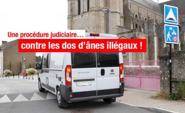 UNE PROCÉDURE JUDICIAIRE EN COURS CONTRE DES DOS D'ÂNES JUGÉS NON CONFORMES