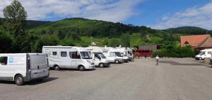 UNE BONNE NOUVELLE POUR KAYSERSBERG, L'AIRE DE SERVICE GRATUITE