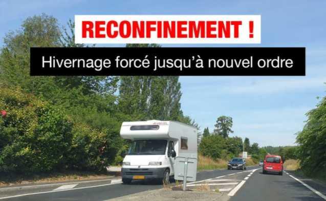 RECONFINEMENT NATIONAL : LES CAMPING-CARS DOIVENT PRENDRE LE CHEMIN DU RETOUR