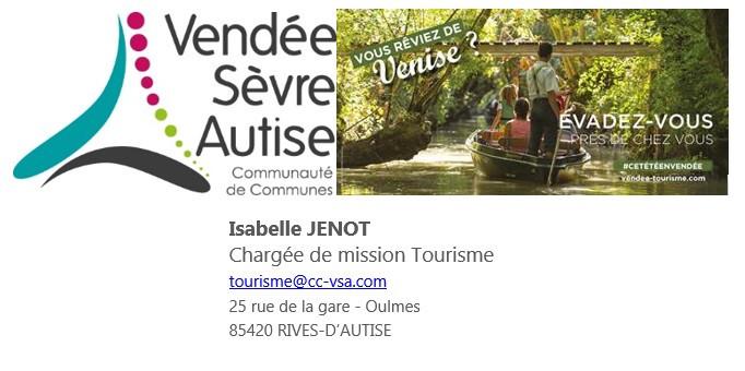 Brochure sur les accueils camping-cars du Sud Vendée comprenant une partie du Marais Poitevin