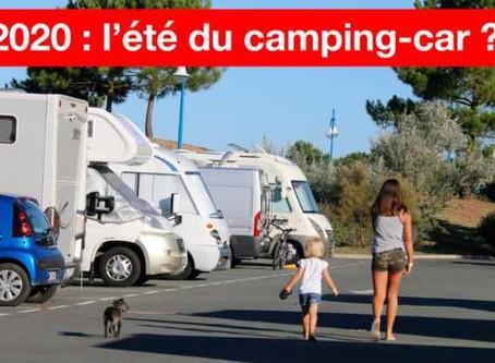 L'ÉTÉ DU CAMPING-CAR ? SELON LES CAMPING-CARISTES, L'AFFLUENCE RESTE RAISONNABLE