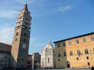 VISITER PISTOIA, LA PETITE FLORENCE, EN TOSCANE, LORS D'UN VOYAGE EN ITALIE EN CAMPING-CAR