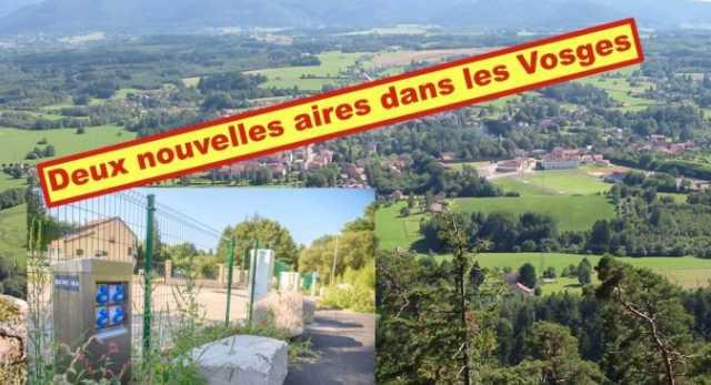 Deux nouvelles aires pour camping-cars dans les Vosges
