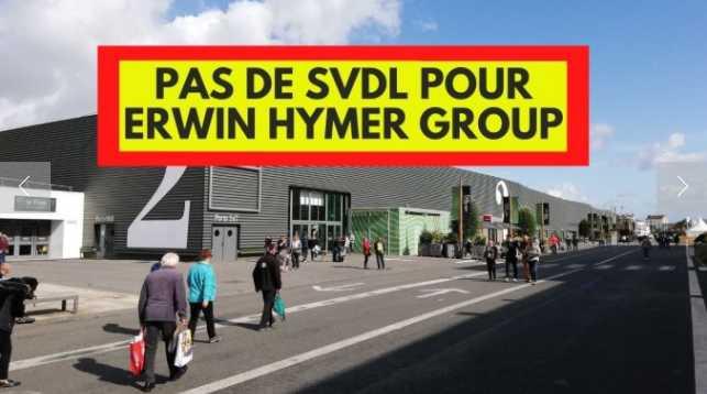 Pas de salon du Bourget 2021 pour les marques du groupe Hymer