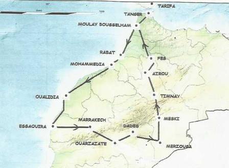 Réveillon au Maroc du 28 décembre 2020 au 15 janvier 2021