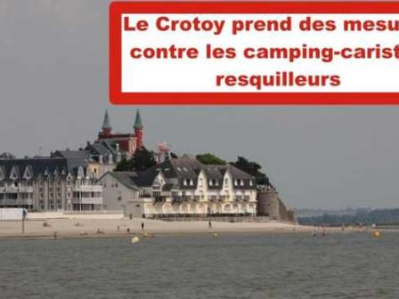 Le Crotoy (80550) fait la chasse aux camping-caristes fraudeurs