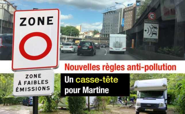 ZFE + COUVRE-FEU : LE CASSE-TÊTE POUR SE RENDRE AU CAMPING DU BOIS DE BOULOGNE EN CAMPING-CAR
