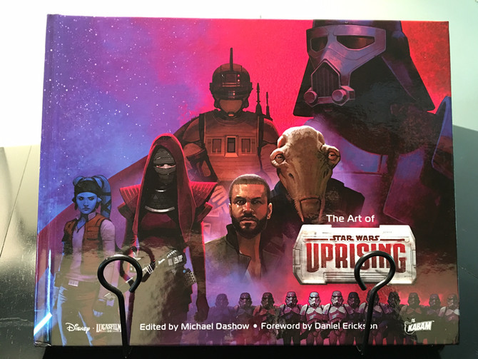Art of Star Wars Uprising