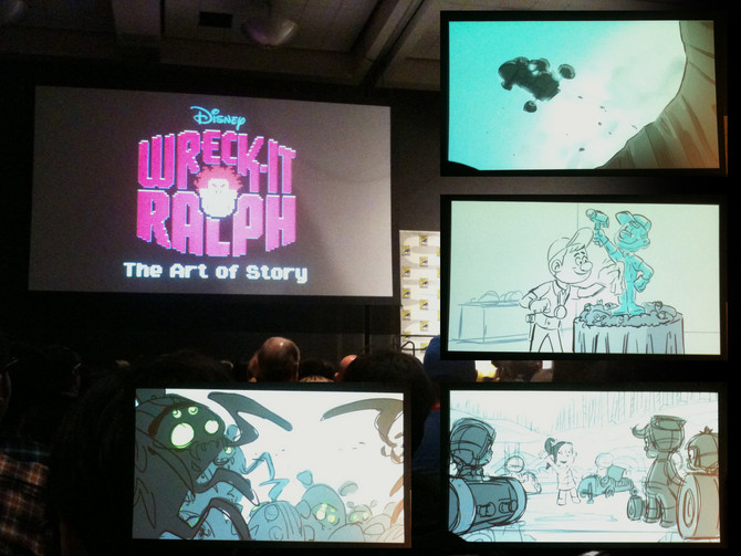 Wreck-it Ralph: The Art of Story