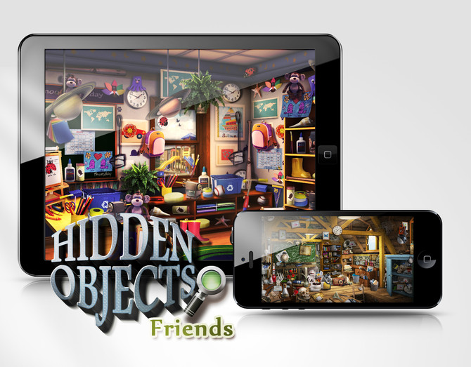 Hidden Object with Friends now available in the iOStore