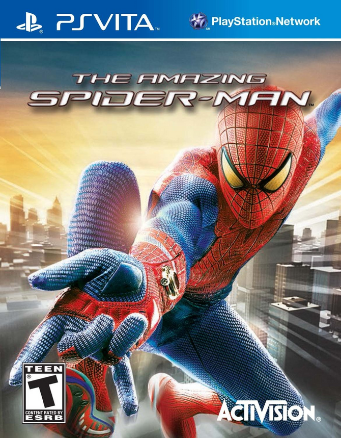 The Amazing Spider-Man on PSVITA
