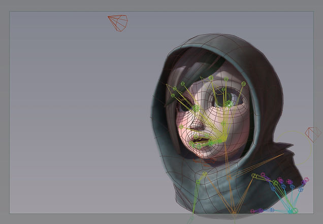 Joint Based Facial Rigging