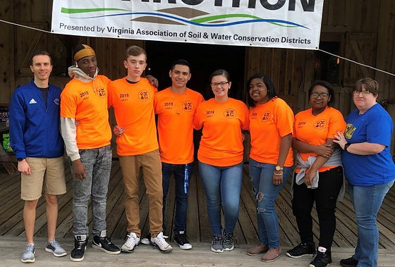 Envirothon team_2019 Area V competition_