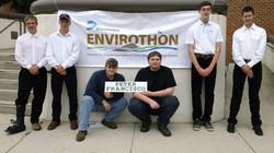 2017 Envirothon Team at State