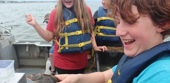 Field Trip with Chesapeake Bay Foundation