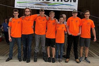Envirothon team_2019 Area V competition_
