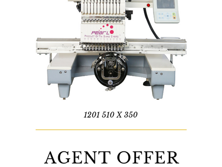 Best Promotion Offer For Embroidery, Garment Machinery Agents