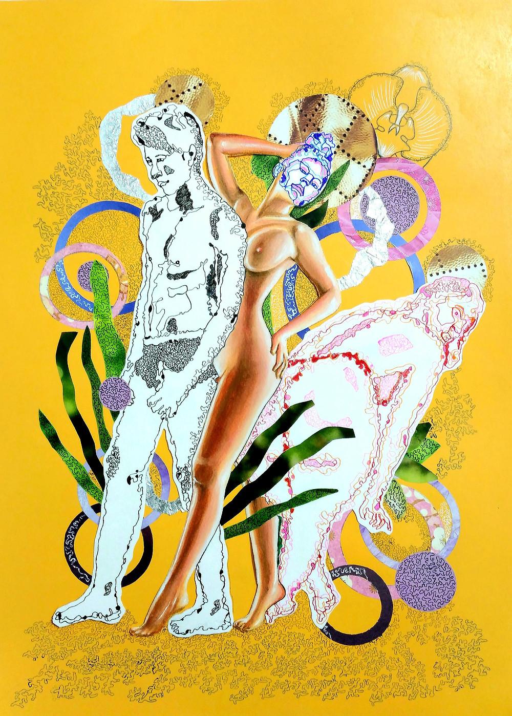 Art on a Budget - Leva and Darius _ 'No. 141' _ Screen print