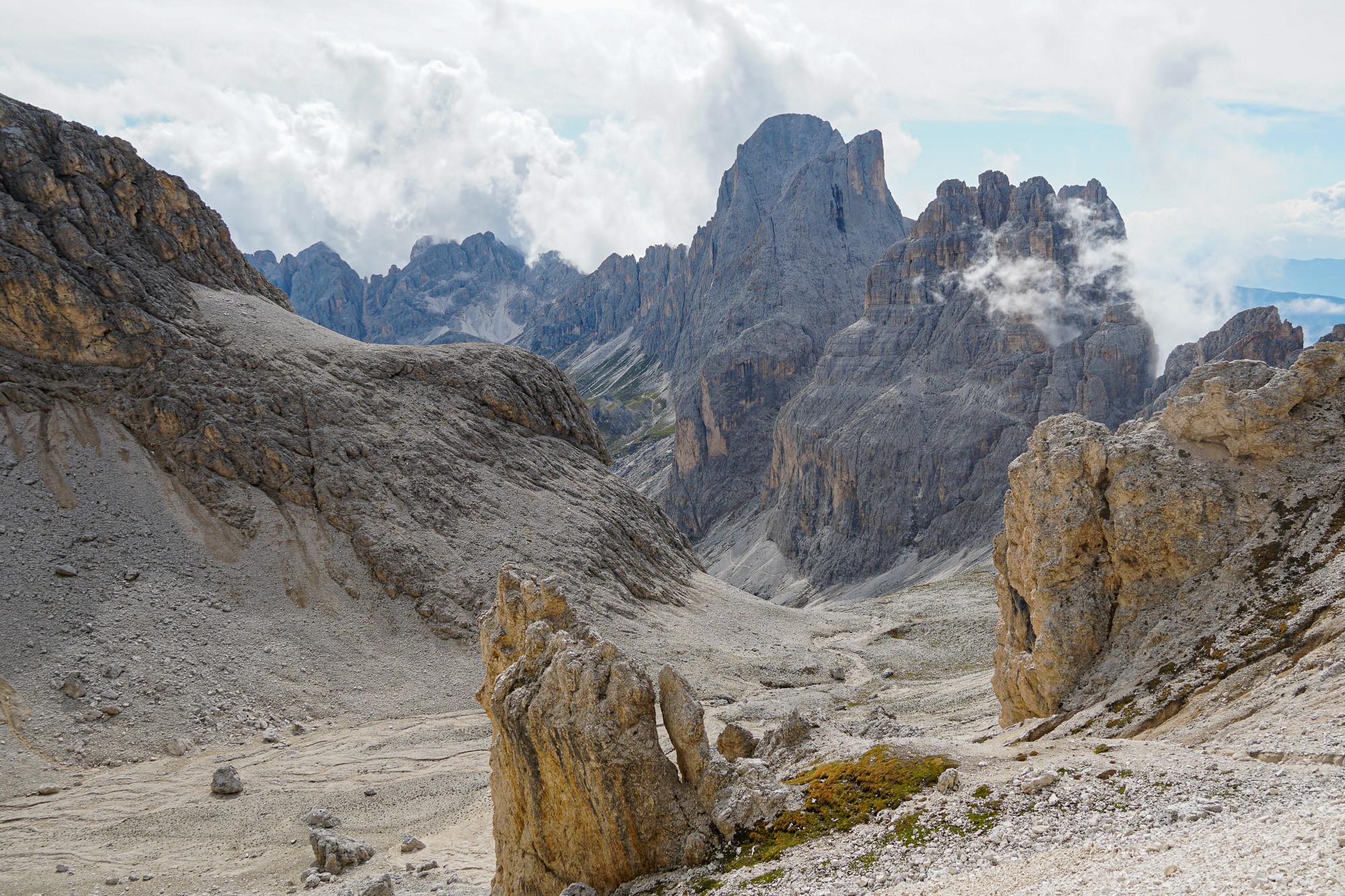 Bergtoppen verzamelen in Verwall (Int*)