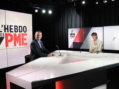 La sociéte SOLUPROCESS Invitée par BFM TV