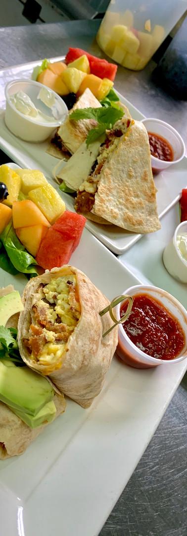 Breakfast Burrito / Southwestern Quesadilla