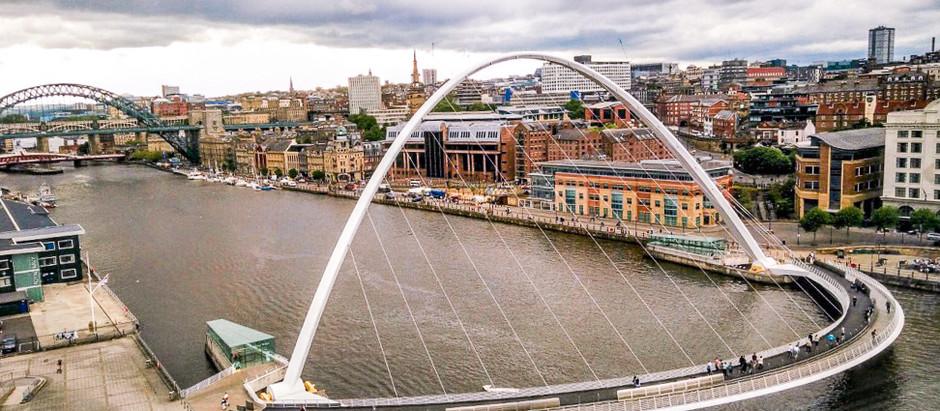 Alreet, man! Bienvenue à Newcastle upon Tyne.