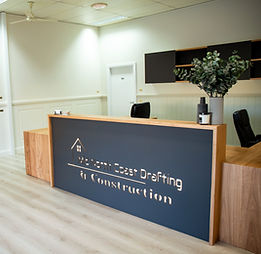 Reception drafting desk