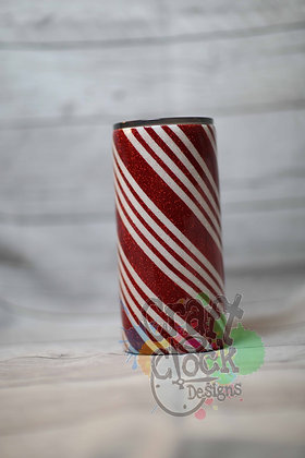 20oz Straight Candy Cane