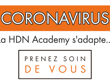 Votre sport-etudes s'adapte: la HDN Academy face au Coronavirus