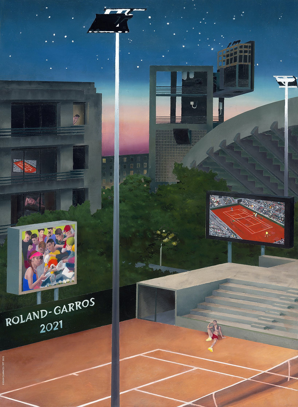 photo officielle Roland Garros 2021