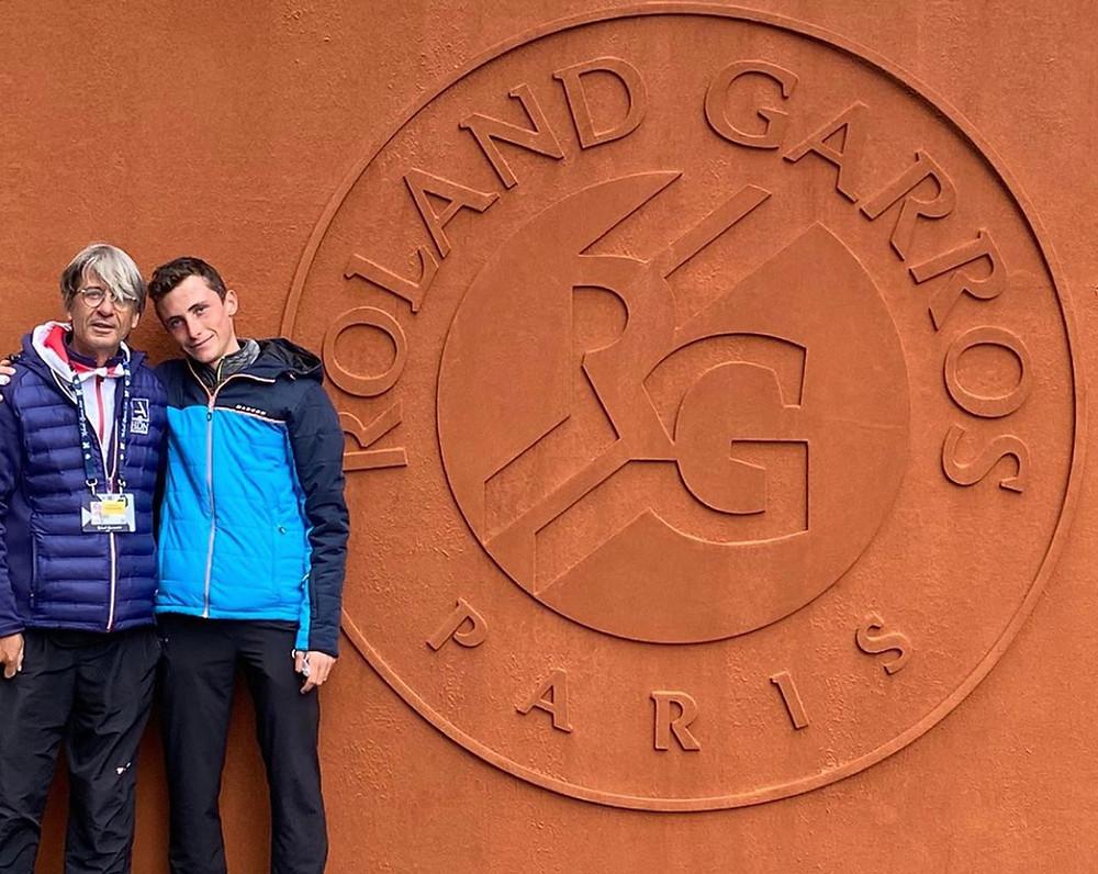 Bertrand & Pascal à Roland Garros