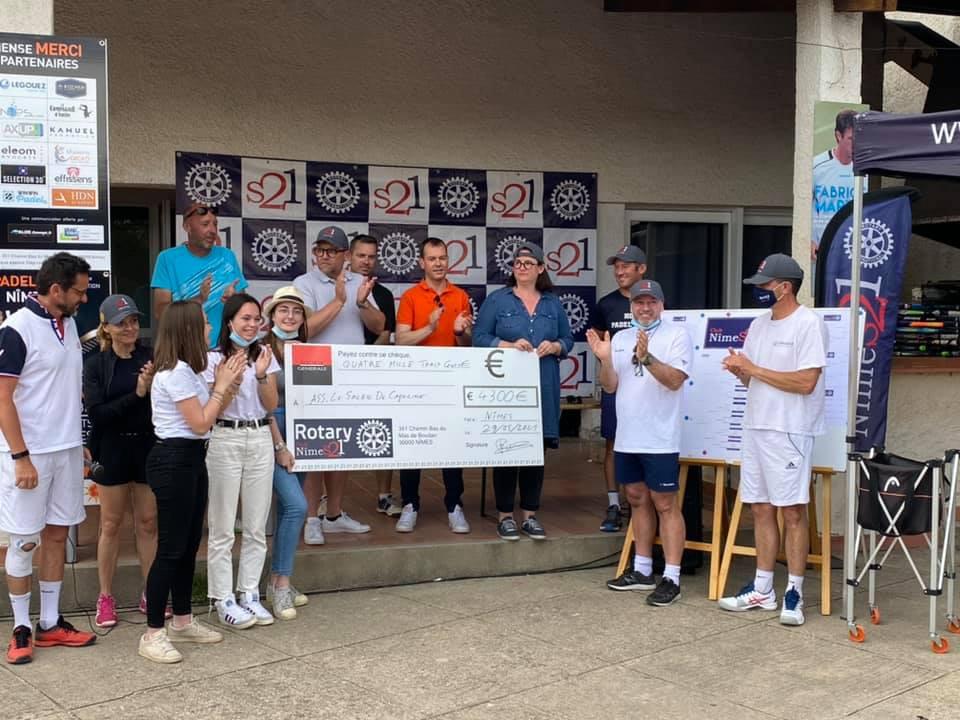 évènement Rotary NÎMES 21 & HDN Padel cup 21