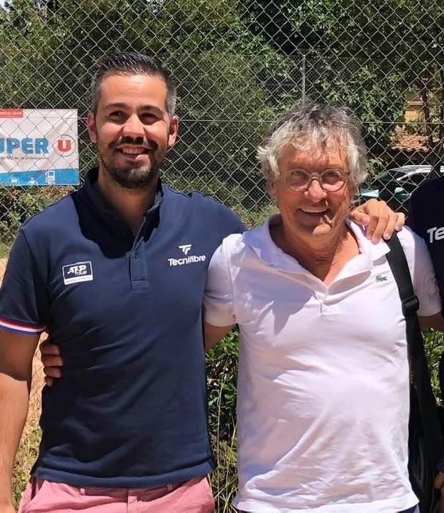 Florian Guiral à gauche, Pierre Bouché à droite