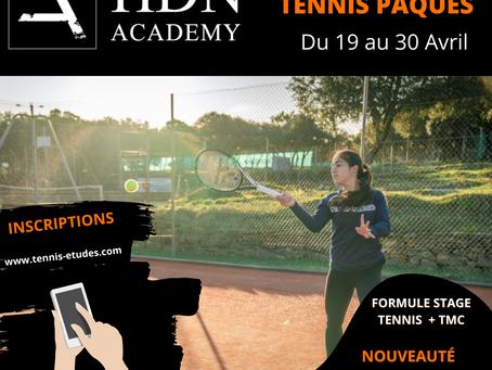 Stages Tennis + TMC - Spécial Pâques