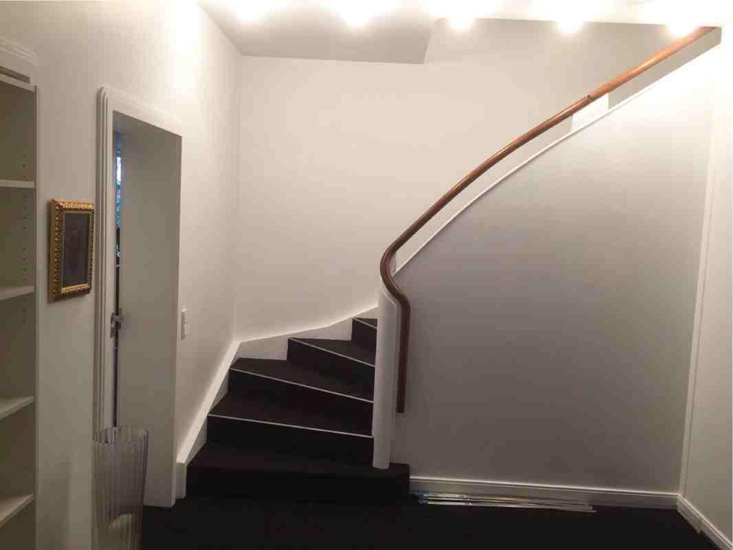 Treppenhaus fertig